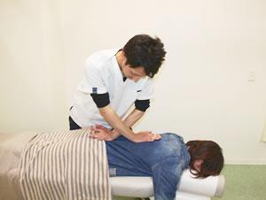 徳島交通事故・むち打ち治療 施術開始