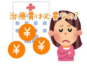 徳島交通事故・むち打ち治療 治療費は必要なの?